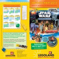 INFO-TICKER 2011 - Legoland