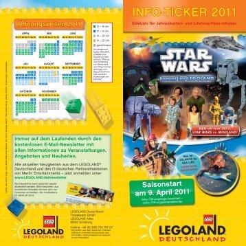INFO-TICKER 2011 - Legoland