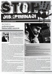 Romano voďi STOP diskriminaci - Romea.cz