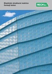 Elastické strukturní matrice formuji beton - RECKLI GmbH: Home