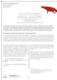 2008 : l'année du movingdesign ! - Sitesreseau.mercedes.fr