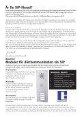Talk for you nummer 3, 2010 - Om SIP - Talk telecom - Page 2