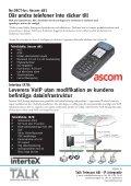 Talk for you nummer 3, 2010 - Om SIP - Talk telecom - Page 4