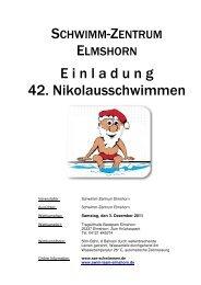 E i n l a d u n g 42. Nikolausschwimmen - Hh-swim-info.de