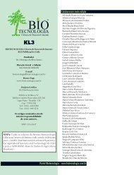 Colaboraram nesta edição Portal Biotecnologia - www ...