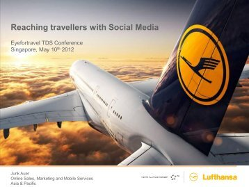 One day at the Lufthansa Group - EyeforTravel