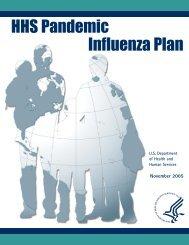 HHS Pandemic Influenza Plan - Flu.gov