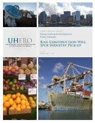 Hawaii Construction Forecast - UHERO