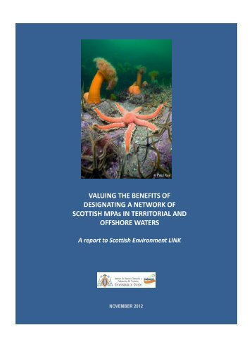 Valuing the Benefits of Designating a Network of Scottish MPAs in ...