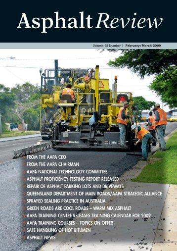 Roads Feb-Mar 09_1 - Australian Asphalt Pavement Association