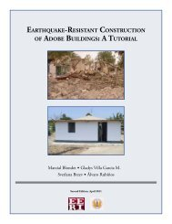 EarthquakE-rEsistant ConstruCtion of adobE buildings: a tutorial