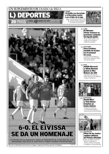 L) DEPORTES - Diario de Ibiza