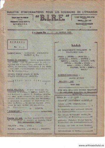 BIRE NR. 5 - arhivaexilului.ro