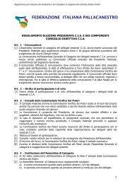Regolamento Elezione Presidente CIA.pdf - Comitato Italiano Arbitri ...