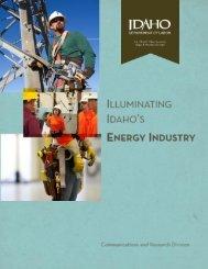 Illuminating Idaho's Energy Industry - Idaho Department of Labor