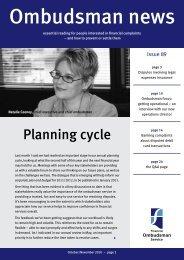 Ombudsman News Issue 89 - Financial Ombudsman Service