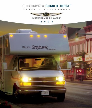 GREYHAWK™ & GRANITE RIDGE™ - Jayco