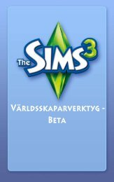 Instruktioner - The Sims 3