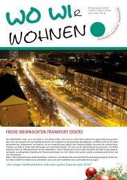 frohe weihnachten frankfurt - Wohnungswirtschaft Frankfurt
