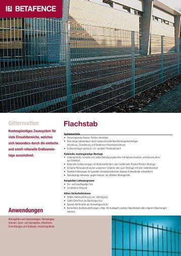 Flachstab - Emil Hitz AG