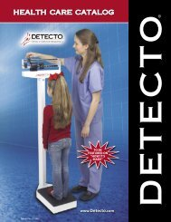 Detecto physician scales