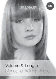 Volume≤ngth; flipover manual.indd - Balmain Hair