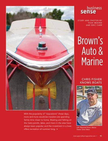sense - Brown's Auto & Marine