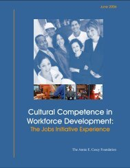Cultural Competence in Workforce Development ... - Abt Associates