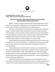 February 7, 2006 - The Denver Foundation