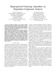 Hyperspectral unmixing algorithm via dependent component analysis