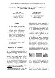 Extraction of regions of interest based on motion activity for video ...