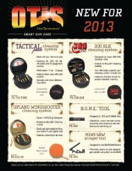 2013 New Products - Otis Technology