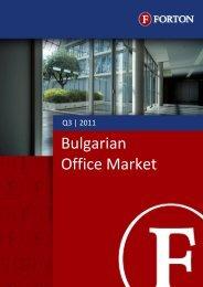 Bulgarian Office Market – Q3, 2011.pdf - Forton