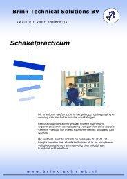 Folder Schakeltechnisch practicum - Brink Techniek