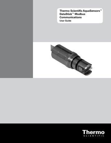 Thermo Scientific AquaSensors™ DataStick™ Modbus ...