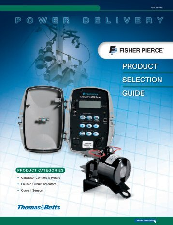 Fisher Pierce Controls Catalogue Fisher Pierce Controls Catalogue