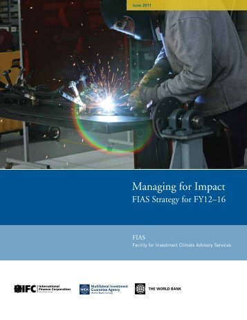 Managing for Impact - Investment Climate
