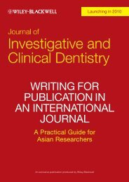writing for publication in an international journal - Wiley