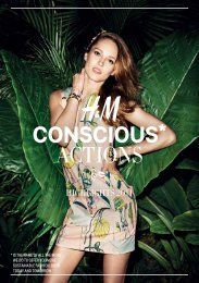 CONSCIOUS* ACTIONS - About H&M