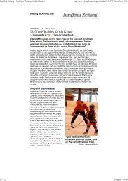 Jungfrau Zeitung - Ein Tige... - Jungfrau Region