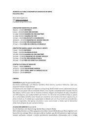 AGENDA CULTURAL E DESPORTIVA CONCELHO ... - Beja Digital