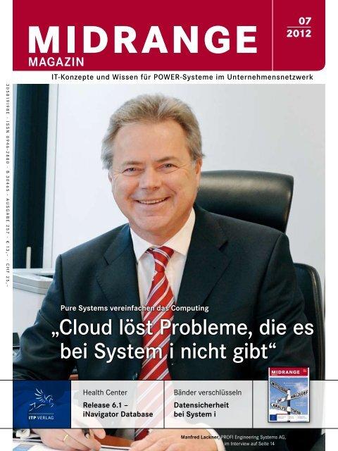 Cloud löst Probleme, die es bei System i nicht gibt - Midrange Magazin