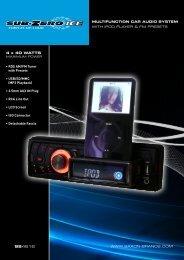 multifunction car audio system - Saxon Brands