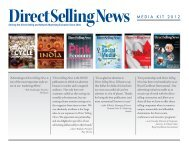 Media Kit 2012 - Direct Selling News