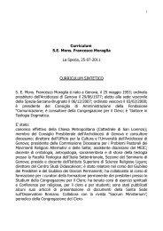 Bibliografia di Francesco Muraglia - Webdiocesi