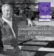 cathedral is Known for its service, but We are ... - Cathedral High