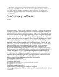 (Jaarboek Legermuseum 2000-2001) over Prins ... - Boekje Pienter