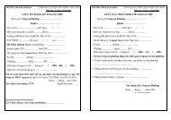 Biểu mẫu đăng ký ngoại trú