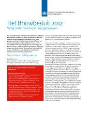 Infoblad Veilig onderhoud op en aan gebouwen - Bouwbesluit ...