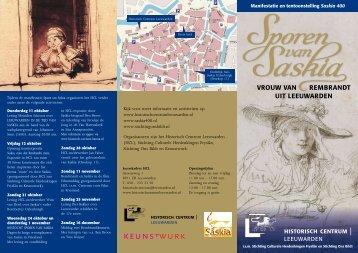 vrouw van rembrandt uit leeuwarden - Historisch Centrum ...